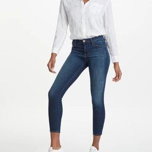 J Brand Sublime Mid Rise Capri Jeans 27 NWT